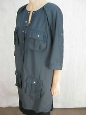 Willow Size 12 Charcoal Semi-Formal Jacket /over dress