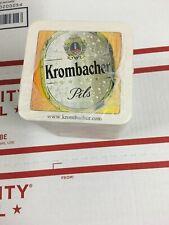 New Unopened Sleeve Of Krombacher Pils BEER COASTERS