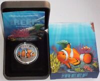 Australien 1/2 Oz Silber Clownfish 2010 PP Polierte Platte im Etui *Bestpreis!*
