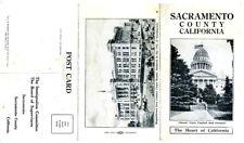 1915 Brochure Mailer Sacramento Co w/ New Court House