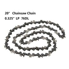 """20"""" Chainsaw Saw Chain Blade Sears 0.325"""" LP .058 Gauge 76DL Drive Link US STOCK"""