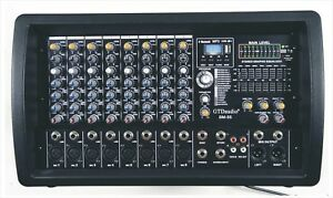 4000 Watts 8 Channel Professional Powered Mixer power mixing Amplifier Amp BM55