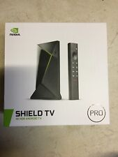 NVIDIA - SHIELD Android TV Pro - 16GB - 4K HDR Streaming Media Player-New IN box