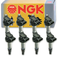 8 pcs NGK Ignition Coil for 2004-2009 Jaguar XJ8 4.2L V8 - Spark Plug Tune ot