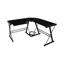 Walker Edison AZ51B29 3-pieces Corner Desk-Black