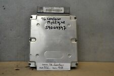 1996 Ford Contour  Engine Computer Unit ECU 96BB12A650CF Module 39 11C6