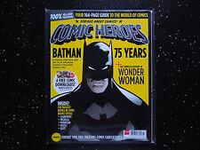 75 YEARS OF BATMAN  June 2014 COMIC HEROES  + COMPLETE HISTORY OF WONDER WOMAN