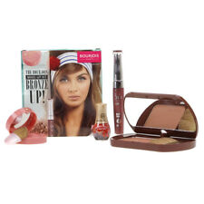 Bourjois Bronze Up Make Up Gift Set With Bronzer Blusher Lipgloss & Nail Varnish