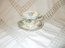 VINTAGE FOLEY CHINA MINATURE CUP & SAUCER