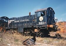Z133 RP 1990ish MC MAINE CENTRAL RAILROAD ENGINE #960