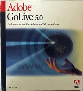 Adobe GoLive 5.0 - Macintosh - Deutsch