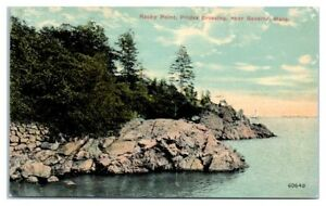 Early 1900s Rocky Point, Prides Crossing, near Beverly, MA Postcard
