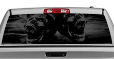 Truck Rear Window Decal Graphic [Tattoos & Themes / Skulls] 20x65in DC45802
