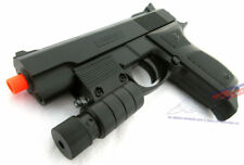 Toy Guns Military Detective UK Arms M777R 9MM Toy Pistol w/ Light-Up Aim Sight