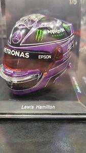 1:5 Spark Lewis Hamilton 2020 Mercedes Benz World Champion Helmet Turkish GP