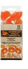 Fall Harvest PUMPKINS LED Lights 3 ft Strands Thanksgiving Halloween Decorations