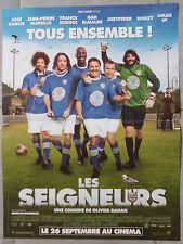 Affiche LES SEIGNEURS Olivier Dahan JOSE GARCIA Franck Dubosc FOOTBALL 40x60cm