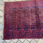 """Authentic Tribal/Persian Wool Rug 34""""x58"""" Red & Black"""