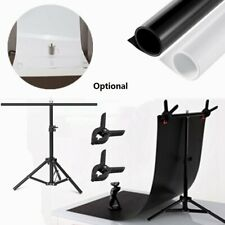 Washable PVC Photography Lighting Background Photo Studio with T Backdrop Stand