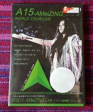 A-Mei ( 張惠妹 ) ~ A 15 Amazing World Tour ( Malaysia Press ) Dvd