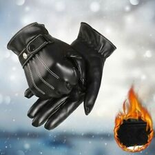 Motorcycle Leather Gloves Windproof Gloves Screen Full Finger Gloves Mittens