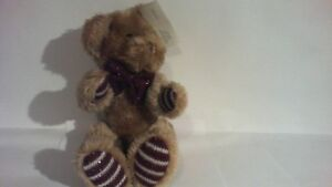 "Royal Plush bear collection ( Sits 9"" tall )"