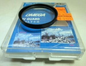 Omega 43mm UV Guard Lens Filter screw in type - open box