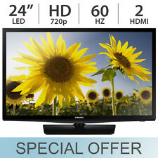 "Samsung 24"" Inch 720p 60Hz Slim LED HD TV / Monitor with 2 HDMI - UN24H4000AFXZA"