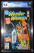 Wonder Woman #274 1980 CGC 9.0...Origin & 1st New Cheetah (Deborah Domaine)