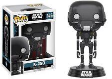 Funko Pop Star Wars Rogue One K-2SO Bobble-head Vinyl Figure Toy #146