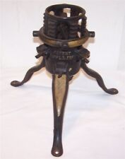 Antique Victorian North Bros. Cast Iron Feather Tree Christmas Tree Stand