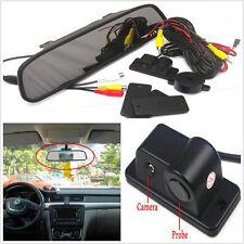 "CCD Radar Cars Reverse Camera + 4.3"" LCD Rearview Mirror Digital Monitor Display"