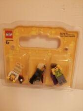 Lego Mini Figures 3 Of Back Series No 852766 4570203