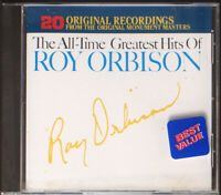 Roy Orbison - The All-Time Greatest Hits Of Roy Orbison [22] (EX/EX) CD