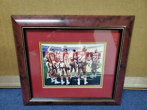 RONNIE LOTT SAN FRANCISCO 49ERS + 3)Autographed 8x10, Very Rare Photo- LOTT #24