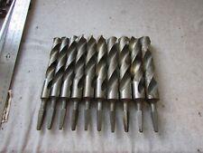 Lot (10) VTG NOS Cleveland Twist Co Hand Drill Brace Bits 21/32  23/32 25-32/32