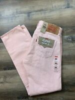 Levi's Men's 501 '93 Straight Button Fly Jeans PINK (Size 30X32) NWT MSRP $80