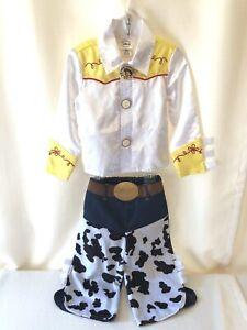 EUC Disney Store Toy Story JESSIE Cowgirl Costume Girls Size XXS 3 Halloween
