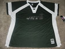 NEW YORK JETS DRAFT ME FASHION TOP WOMEN'S 2XL MAJESTIC APPAREL NEW!