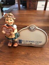 Hummel 20 Year Club Plaque