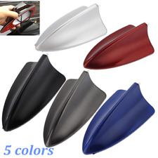 Shark Fin Roof Dummy Antenna Aerial Stylish Decoration With Light For Audi BMW