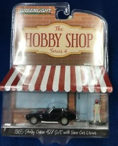 1:64 1965 Shelby Cobra 427 S/C with Race Car Driver Hobby Shop Series 4 97040 A