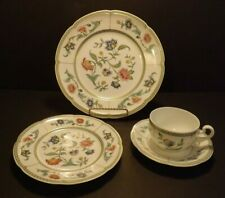 Villeroy & Boch Heinrich Indian Summer 4 Pc Place Setting Dinner Salad Plate Cup