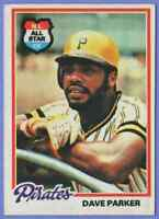1978 Topps Dave Parker Pittsburgh Pirates #560