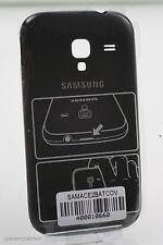 Original Samsung Galaxy Ace 2 i8160 Tapa batería negro Battery door back Cove...