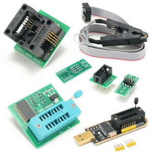 EEPROM BIOS USB Programmer CH341A + SOP8 Clip + 1.8V Adapter + SOP8 Adapter