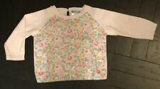 Jacadi $79 Girls Liberty Print Sweater - 12 Months