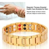 Mens Health Magnet Magnetic Bracelet Super Strong Energy Therapy Arthritis Gift