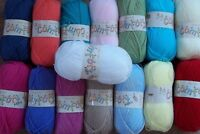King Cole 100grm Baby Comfort Aran: 18 Shades Available