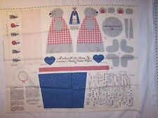 Fabric Panel, Concord's Handy Sewing Helper, cut and sew, by Joan Kessler